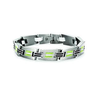 Tonino Lamborghini Corsa Green Men's Bracelet