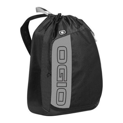 OGIO Black/Silver String Sling Drawstring Backpack - Free Shipping ...