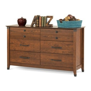 Child Craft Redmond Coach Cherry Double Dresser