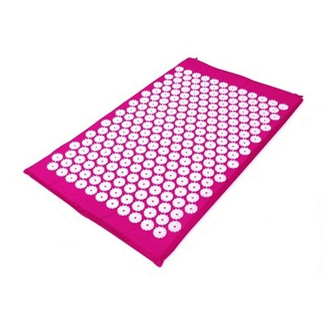 Deluxe Comfort Acupuncture Yoga Mat with Bag, Black night