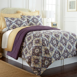 Amraupur Overseas Zoie 6-Piece Comforter Set with Bonus Coverlet