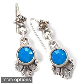 Sweet Romance Tiny Crystal Birthstone Mood Earrings