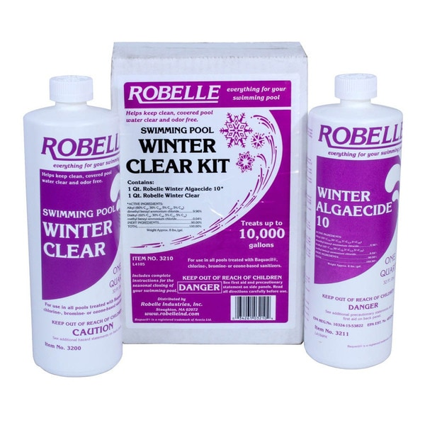 Swimming Pool Chemicals Product : Swimming pool winter clear kit free shipping on orders