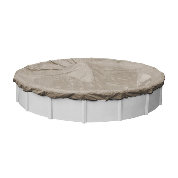 Robelle Superior Winter Above Ground Pool Cover for Round Pools