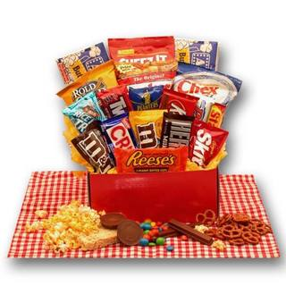 Link to Gift Basket Drop Shipping All American Favorites Snack Care Package Similar Items in Gourmet Food Baskets