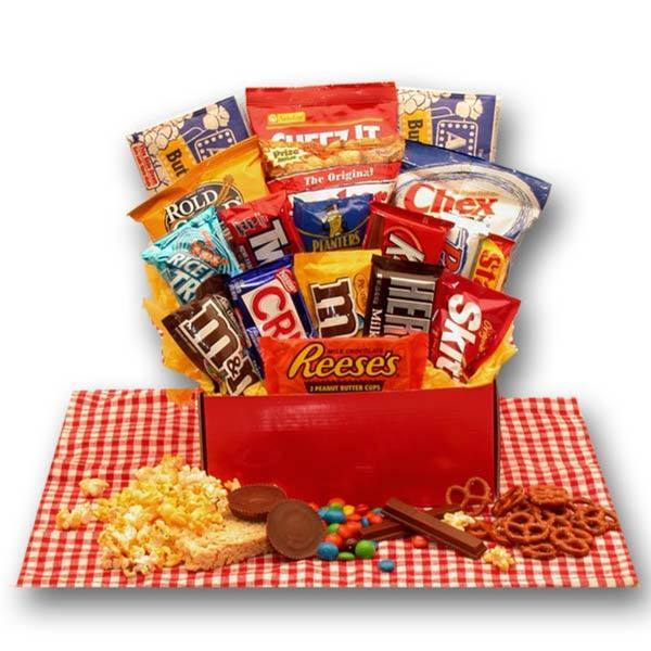 Gift Basket Drop Shipping All American Favorites Snack Care Package. Opens flyout.
