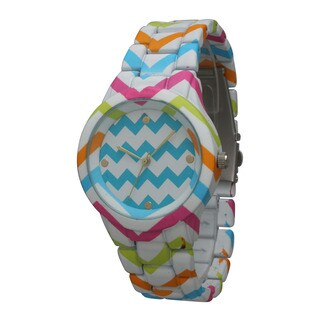 Olivia Pratt Chevron Bracelet Watch