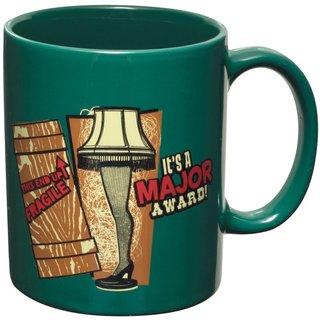 It's A Major Award A Christmas Story Leg Lamp Green Coffee Mug