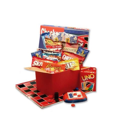 It's Game Time Boredom and Stress Relief Gift Basket
