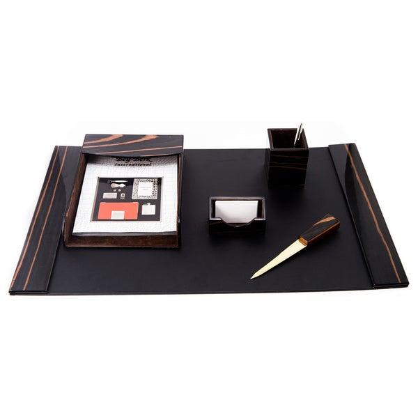 Bey Berk Draper 6-piece Desk Set