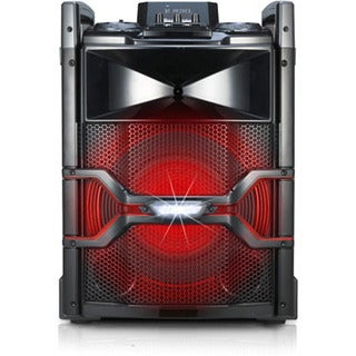 LG OM5541 (Refurbished) 400w X-boom Cube Speaker System with Bluetooth Connectivity
