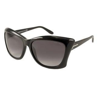 Tom Ford Womens TF0280 Lana Rectangular Sunglasses