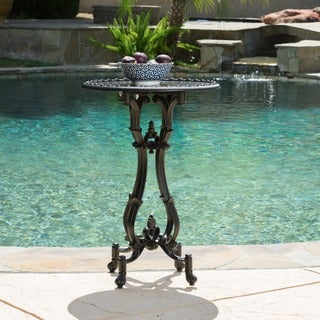 Christopher Knight Home Coco Cast Aluminum Accent Table