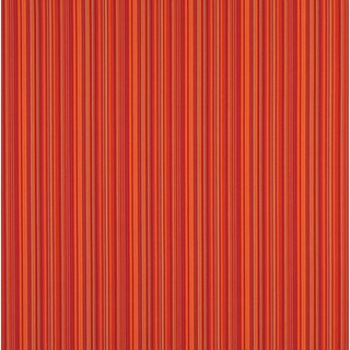 B466 Orange Striped Outdoor Marine Scotchgard Upholstery Fabric (2 options available)