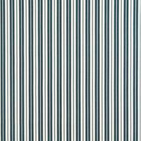 B464 Navy Ticking Striped Indoor Outdoor Marine Upholstery Fabric