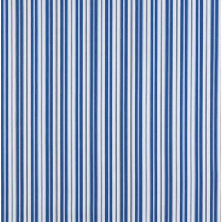 B461 Blue Ticking Striped Outdoor Marine Acrylic Upholstery Fabric