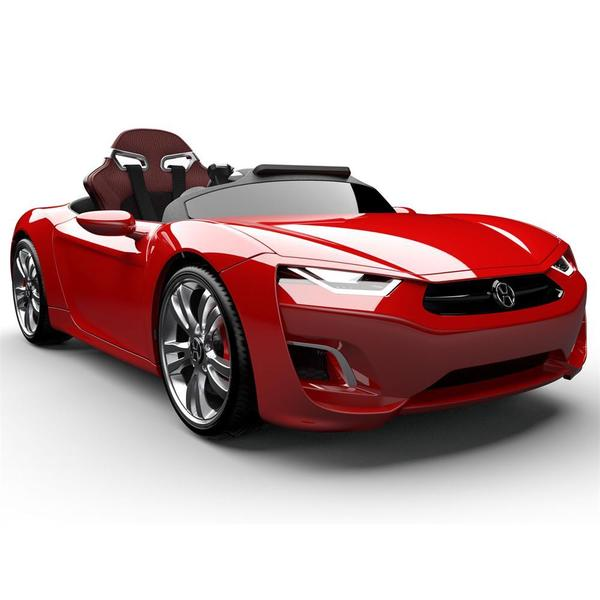 Henes Broon F830 12v Car with Tablet (RC) Red