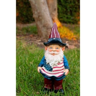 12-inch Americana Gnome with Flag