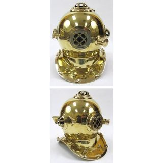 Brass Special Edition Mark V Diver's Helmet