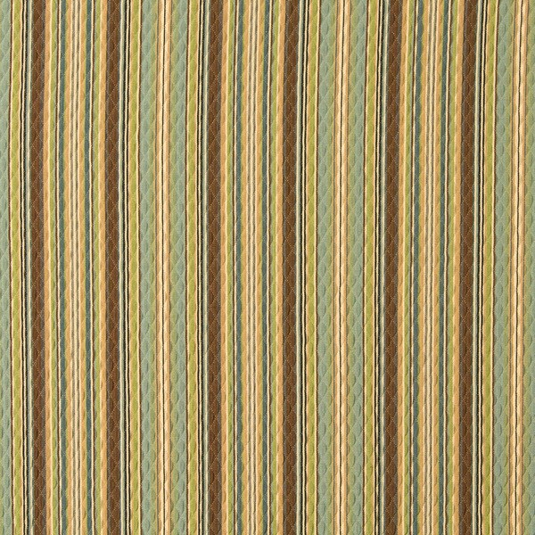 Shop Blue Green And Brown Matelasse Quilted Striped Upholstery