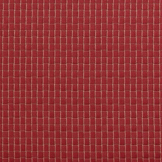 B0250a Burgundy Two Toned Checkered Upholstery Fabric