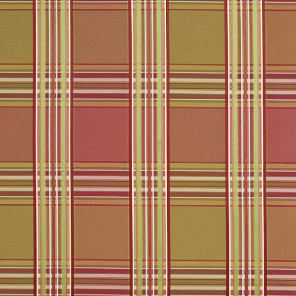 Shop B0220b Pink Peach Green Stripes Plaid Silk Look Upholstery