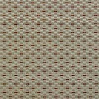 B0210e Teal Copper Small Rectangle Check Silk Look Upholstery Fabric