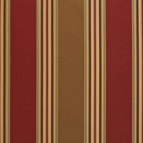 B0150e Sage Green Red Shiny Stripe Silk Look Upholstery Fabric