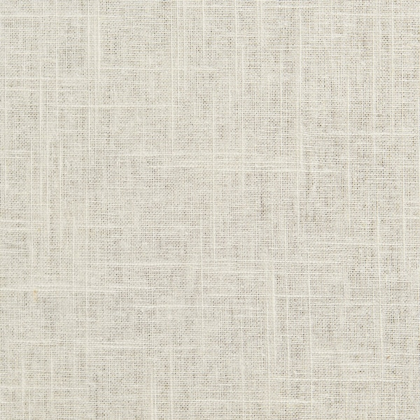 B0080a Linen Natural Solid Textured Linen Look Upholstery Fabric