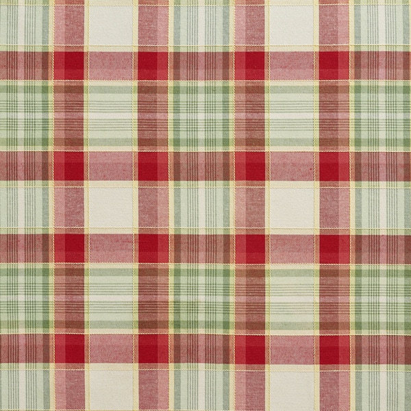Shop B0020b Green and Red Country Plaid Upholstery Fabric - Free ... 7f69e9146532
