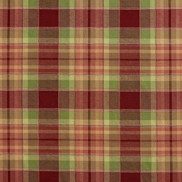 Shop B0020a Burgundy and Green Country Plaid Upholstery Fabric ... 42a8b3095e63