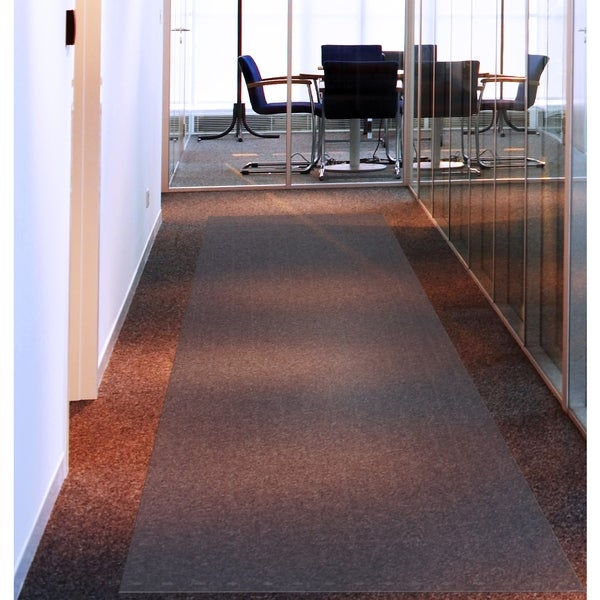 Floortex Long Amp Strong Hallway Runner Clear Pvc Carpet