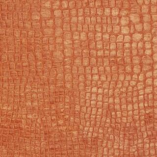 A0151d Orange Textured Alligator Woven Velvet Upholstery Fabric (2 options available)