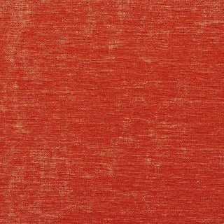 A0150f Bright Orange Solid Shiny Woven Velvet Upholstery Fabric