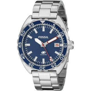 Fossil Men's Breaker Analog Display Analog Quartz Silver Watch FS5048|https://ak1.ostkcdn.com/images/products/10313960/P17425983.jpg?impolicy=medium