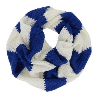 LA77 Knit Stripe Infinity Scarf
