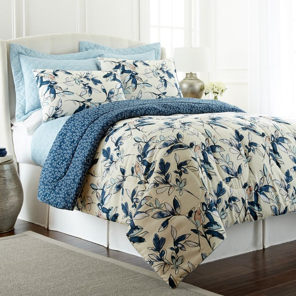 Amrapur Overseas Mianka Reversible 6-piece Comforter Set with Bonus Coverlet Set - Multi-color