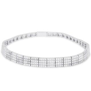 Samantha Stone Sterling Silver Cubic Zirconia Bracelet