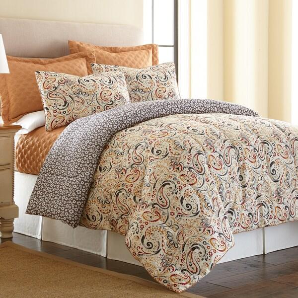 Amraupur Overseas Mavia Reversible 6-piece Comforter Set with Bonus Coverlet Set