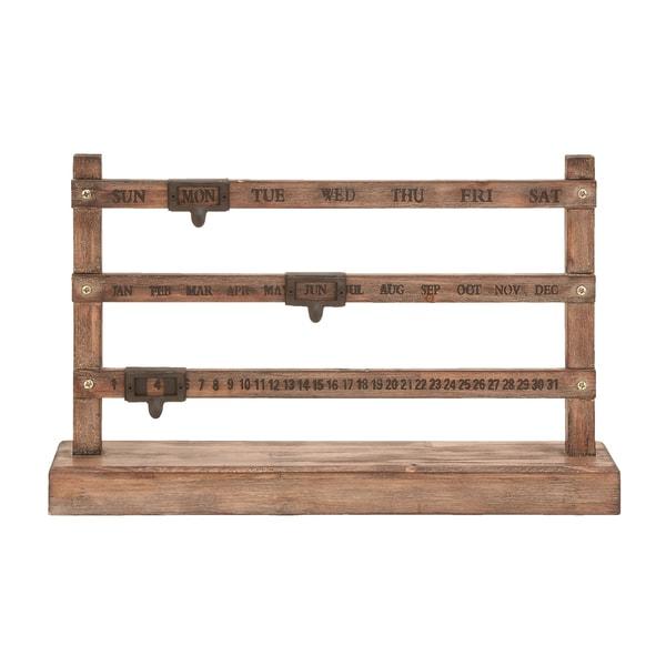 The Gray Barn Jartop Rustic Fencepost Calendar