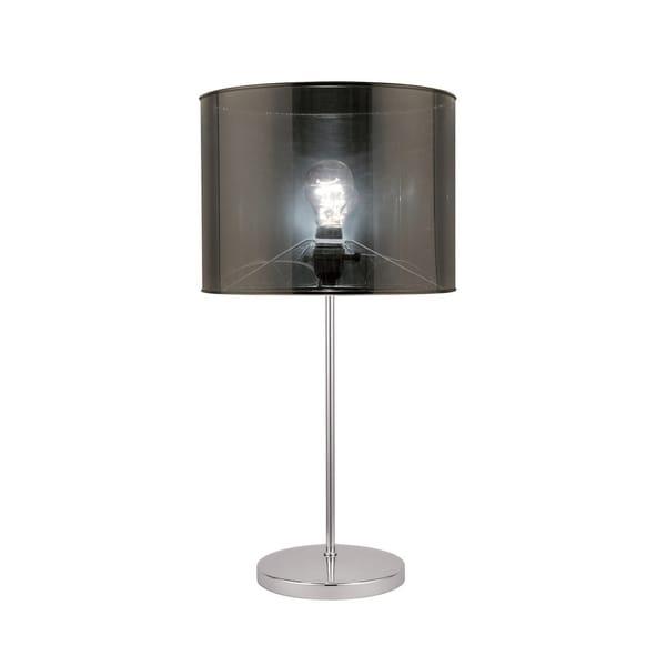 Lite Source Lanza Fluorescent Table Lamp, Chrome