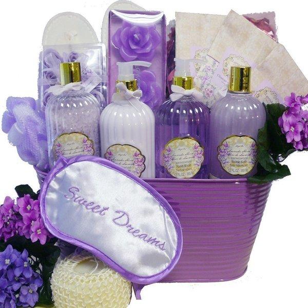 Sweet Dreams Spa Bath and Body Gift Basket