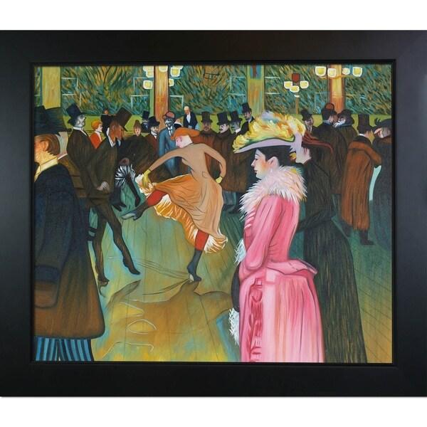 Shop Henri De Toulouse Lautrec At The Moulin Rouge The