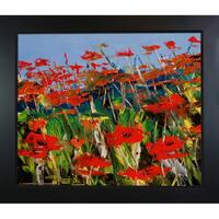 Atelier De Jiel 'Poppies' Framed Fine Art Print
