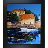 Atelier De Jiel 'Honfleur Colors' Framed Fine Art Print