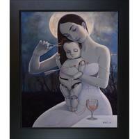 Adrian Borda 'Is Only Love Now' Framed Fine Art Print