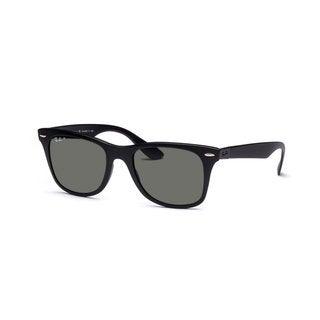 Ray-Ban Liteforce Wayfarer Tech RB4195 Black Polarized Green 52mm Sunglasses