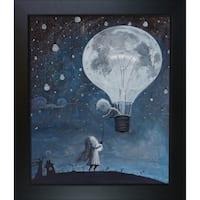Adrian Borda 'He Gave Me The Brightest Star' Framed Fine Art Print