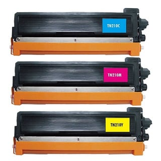 3 Pack Replacing Brother TN-210 210C 210M 210Y Toner Cartridge