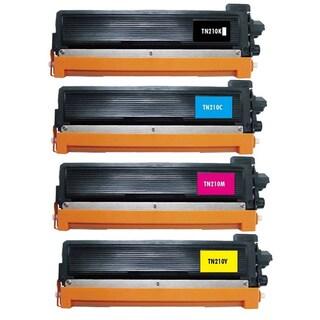 4 Pack Replacing Brother TN-210 210C 210M 210Y 210BK Toner Cartridge